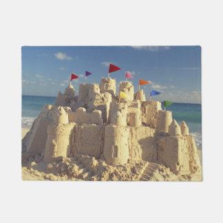 Sandcastle On Beach Doormat