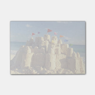 Sandcastle On Beach Post-it Notes