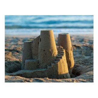 Sandcastle postcard