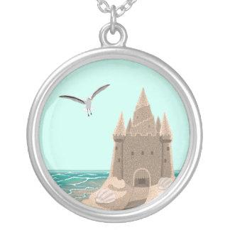 Sandcastle Seagull necklace