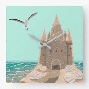 Shell Wall Clocks Zazzle Uk