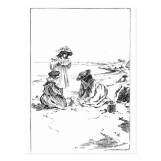 Sandcastles Postcard