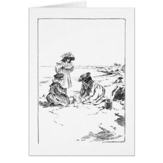 Sandcastles Stationery Note Card