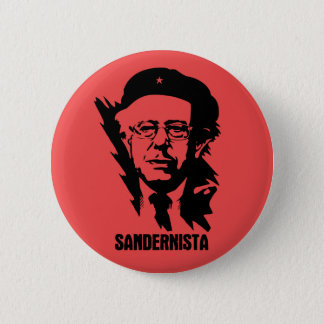 Sandernista 6 Cm Round Badge
