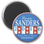 Sanders for President 6 Cm Round Magnet
