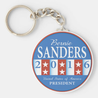 Sanders for President Basic Round Button Key Ring