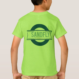 Sandfly Georgia Kids Lime T-shirt