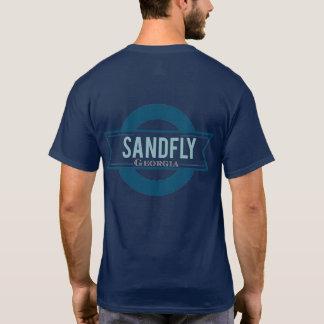 Sandfly Georgia Mens Navy T-shirt