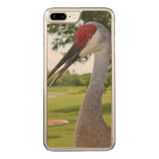 Sandhill Crane in the Grass Carved iPhone 8 Plus/7 Plus Case