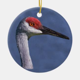 Sandhill Crane Ornament