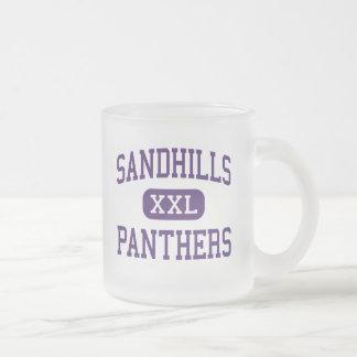 Sandhills - Panthers - High - Dunning Nebraska Frosted Glass Mug