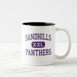 Sandhills - Panthers - High - Dunning Nebraska Two-Tone Mug