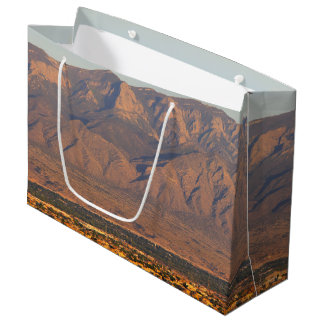 Sandia Mountains, Bernalillo, New Mexico Large Gift Bag