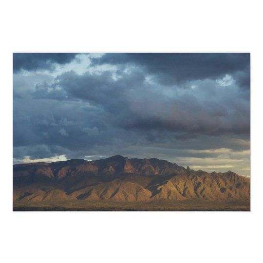 Sandia Mountains Poster