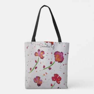 Sandie G Floral tote bag