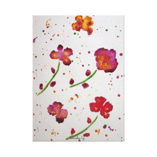 Sandie G Florals 1 Canvas Print