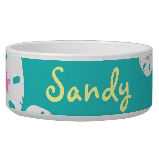 Sandollar Dog Dish