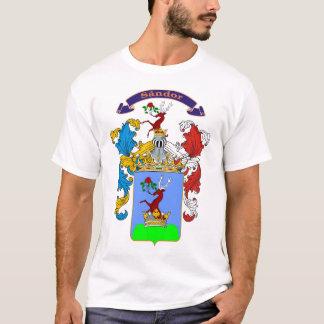 Sandor family Hungarian Crest T-Shirt