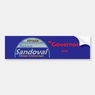 SANDOVAL Gov 2010 Bumper Sticker