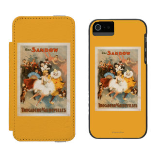 Sandow Trocadero Vaudevilles Carnival Theme Incipio Watson™ iPhone 5 Wallet Case