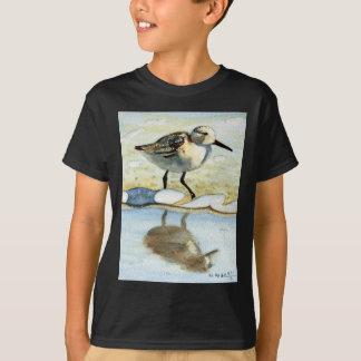 Sandpiper 5, Bird, Ocean, Beach, Nautical, Art Tees