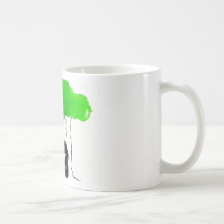 Sandra's painting basic white mug