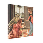 Sandro Botticelli - Annunciation Stretched Canvas Print