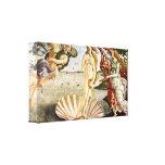 Sandro Botticelli - Birth of Venus Stretched Canvas Print