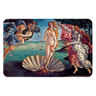 Sandro Botticelli - Birth of Venus - Fine Art Rectangular Photo Magnet