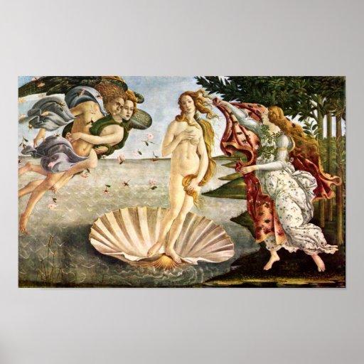 Sandro Botticelli-Birth of Venus Posters