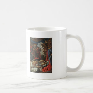 Sandro Botticelli:Discovery of Body of Holofernes Basic White Mug