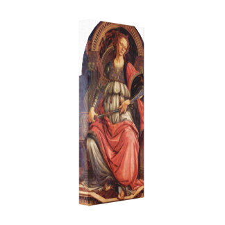 Sandro Botticelli - Fortitude Canvas Print