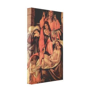 Sandro Botticelli - Fortitude Gallery Wrap Canvas