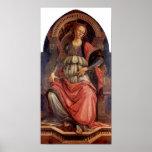 Sandro Botticelli-Fortitude Poster