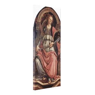 Sandro Botticelli - Fortitudo Stretched Canvas Prints