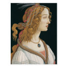 Sandro Botticelli - Idealised Portrait of a Lady Postcard