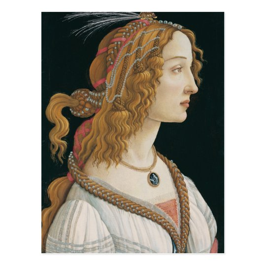 Sandro Botticelli - Idealised Portrait of a Lady