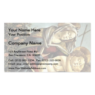 Sandro Botticelli- Madonna,Child & Young St John Pack Of Standard Business Cards