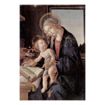 Sandro Botticelli - Madonna of the Book Poster