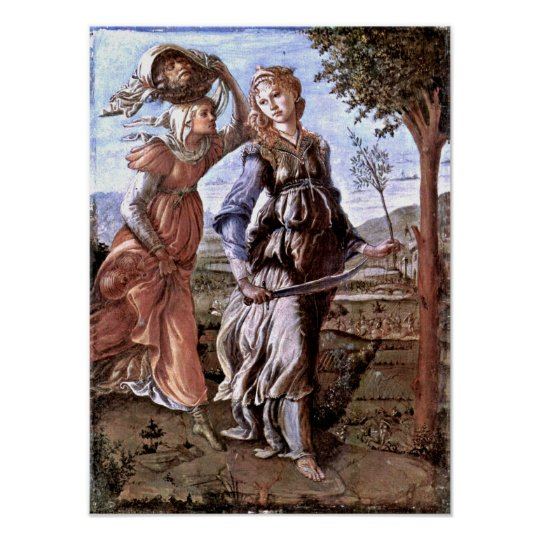 Sandro Botticelli - Return of Judith to Bethulia Poster