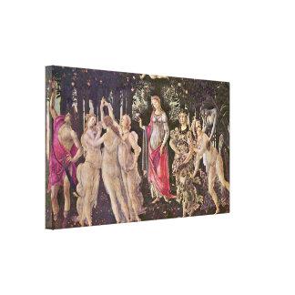 Sandro Botticelli - Spring (Primavera) Canvas Print
