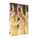 Sandro Botticelli - Spring (Primavera), detail Stretched Canvas Prints