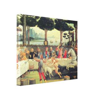Sandro Botticelli: Story of Nastagio Degli Onesti Canvas Print