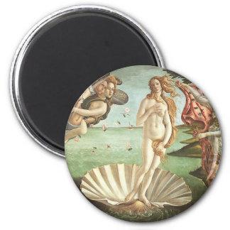 Sandro Botticelli The Birth of Venus 6 Cm Round Magnet