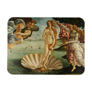 Sandro Botticelli - The Birth of Venus Rectangular Photo Magnet