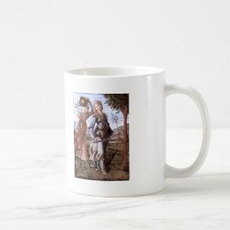 Sandro Botticelli:The return of Judith to Bethulia Basic White Mug