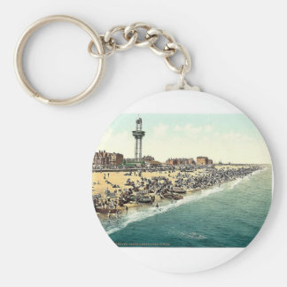Sands and revolving tower, Yarmouth, England rare Key Chain