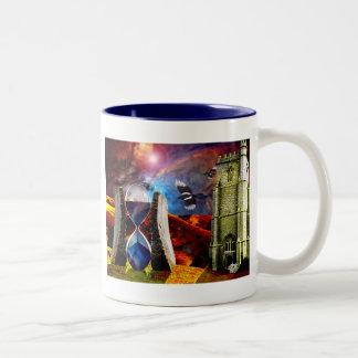 Sands of time.. Two-Tone coffee mug