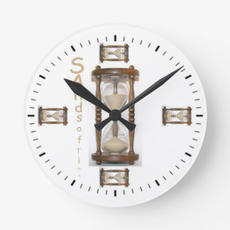 'Sands Of Time' Wall Clock