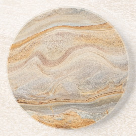 Sandstone Background - Sand, Stone Rock Customised Coaster